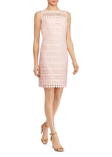 Lauren Ralph Lauren Geo Lace Dress