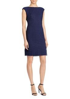 Lauren Ralph Lauren Geometric Lace Dress