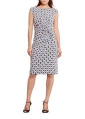 LAUREN RALPH LAUREN Geometric-Print Jersey Dress