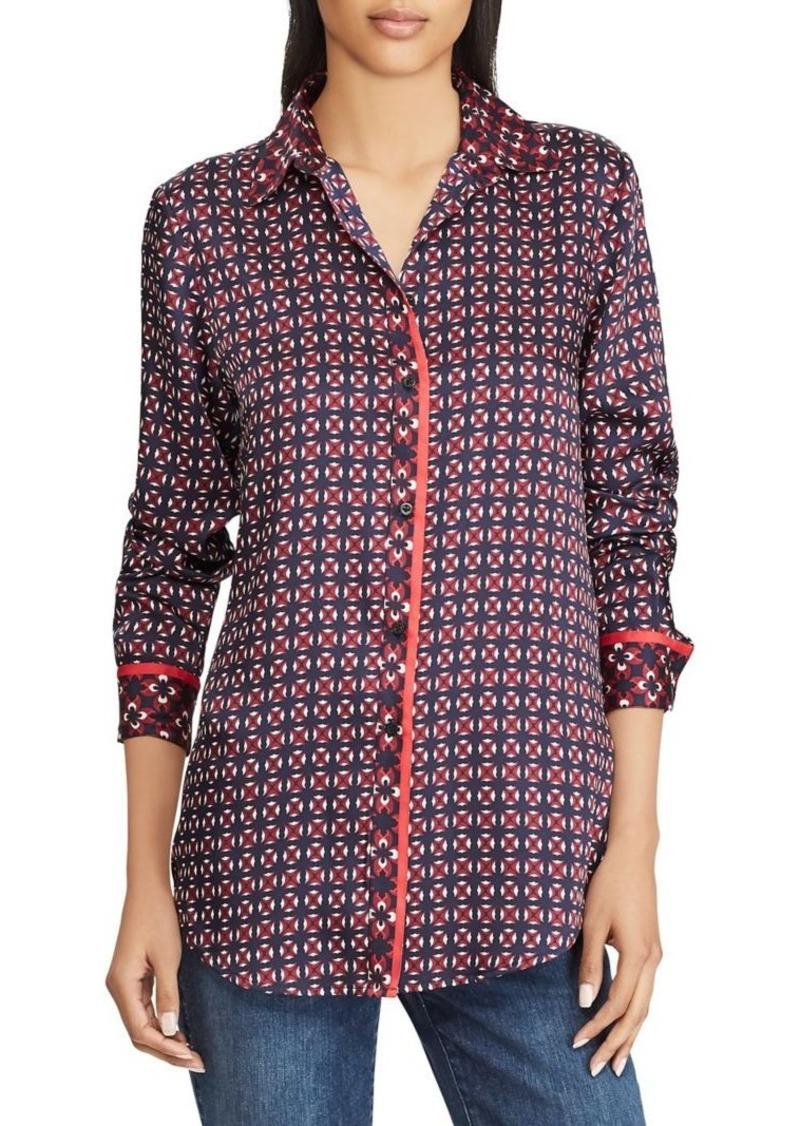 Lauren Ralph Lauren Geometric-Print Shirt