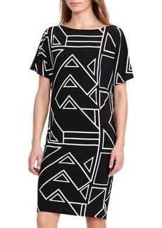 Lauren Ralph Lauren Geometric Printed Dress