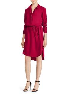 Lauren Ralph Lauren Georgette Shirt Dress