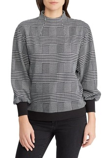 Lauren Ralph Lauren Glen Plaid Mockneck Top