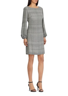 Lauren Ralph Lauren Glen Plaid Shift Dress