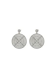 Ralph Lauren Gradual Pave Disc Drop Earrings