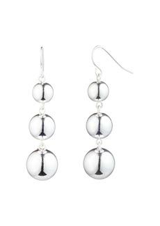 Lauren Ralph Lauren Graduated Metal Bead Linear Earrings