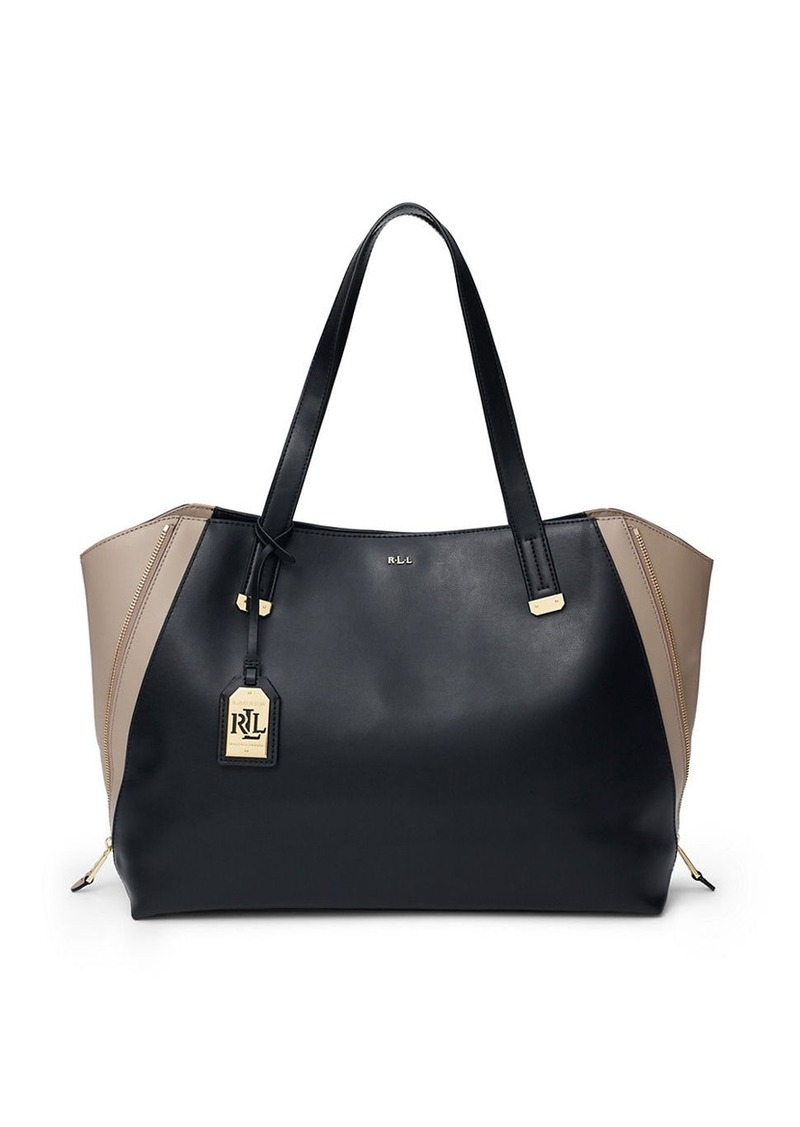 Ralph Lauren Tote Laukku : Ralph lauren guilford leather tote