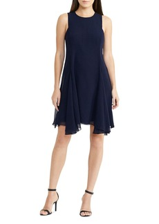 Lauren Ralph Lauren Handkerchief-Hem Dress