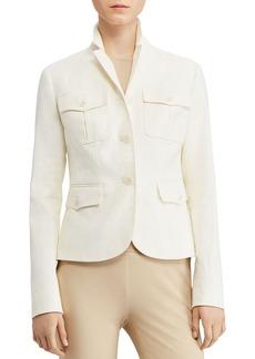 Lauren Ralph Lauren Herringbone Safari Jacket