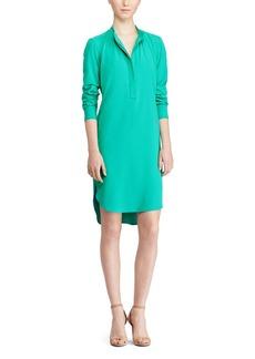 Lauren Ralph Lauren High Low Shirt Dress