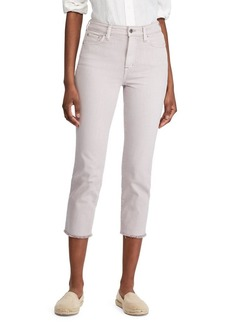 Lauren Ralph Lauren High-Rise Cropped Jeans