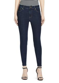 Lauren Ralph Lauren Premier Skinny Crop Jeans in Rinse