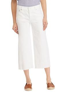 Lauren Ralph Lauren High-Rise Wide-Leg Jeans