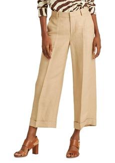Lauren Ralph Lauren High-Rise Wide-Leg Pants