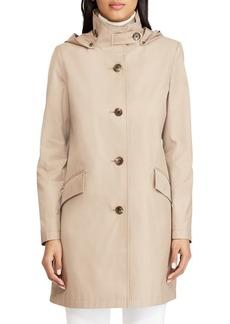 Lauren Ralph Lauren Hooded Cotton-Blend Jacket