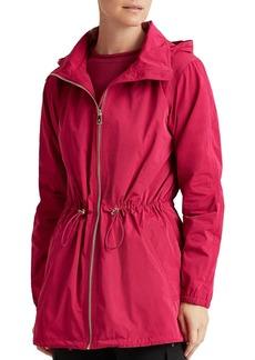 Lauren Ralph Lauren Hooded Mid-Length Jacket