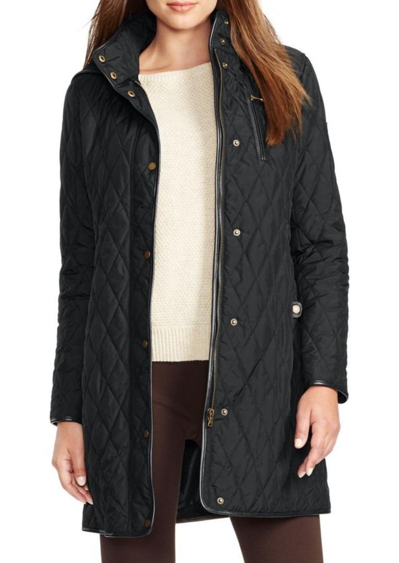 1ee57d5d87b5 Ralph Lauren Lauren Ralph Lauren Hooded Quilted Coat