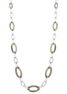 """Lauren Ralph Lauren Horn Link Strand Necklace, 38"""""""