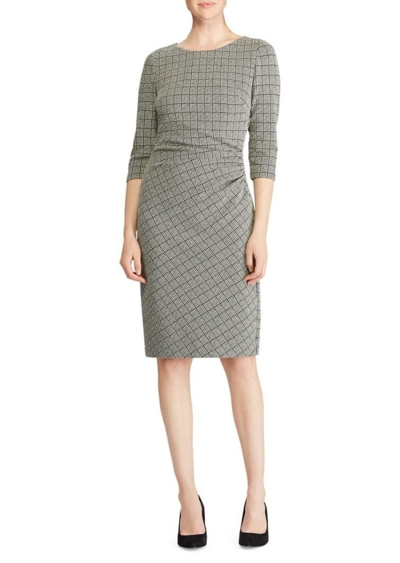 Lauren Ralph Lauren Houndstooth Jacquard Dress