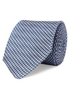 Lauren Ralph Lauren Houndstooth Silk Tie