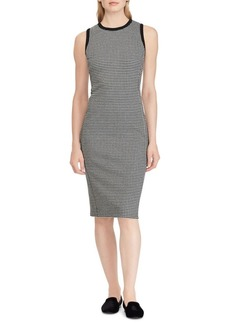 Lauren Ralph Lauren Houndstooth Sleeveless Dress