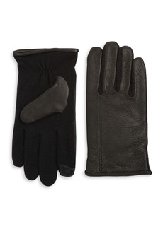 Lauren Ralph Lauren Hybrid Touch Leather Gloves