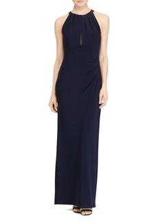Lauren Ralph Lauren Illusion Inset Gown