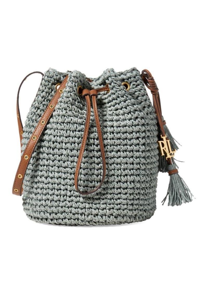 2a740ecc978f Ralph Lauren Lauren Ralph Lauren Janice Straw Bag Now  64.00