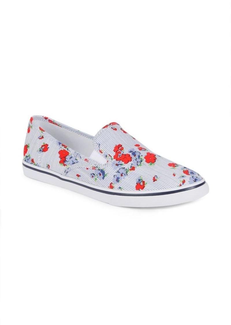 Lauren Ralph Lauren Janis Floral Printed Slip-On Sneakers t98g8