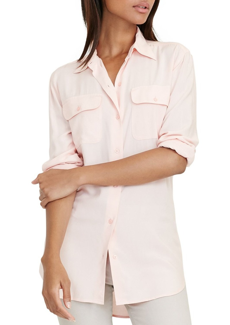 Lauren Ralph Lauren Jersey Button-Down Shirt
