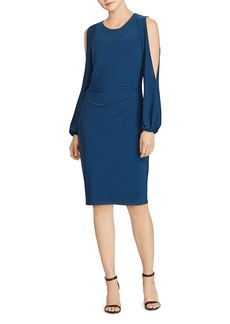 Lauren Ralph Lauren Jersey Cold-Shoulder Dress