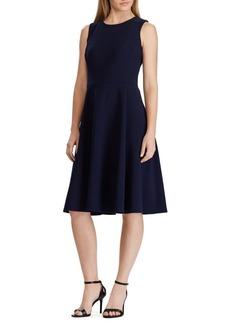 Lauren Ralph Lauren Jersey Fit-&-Flare Dress