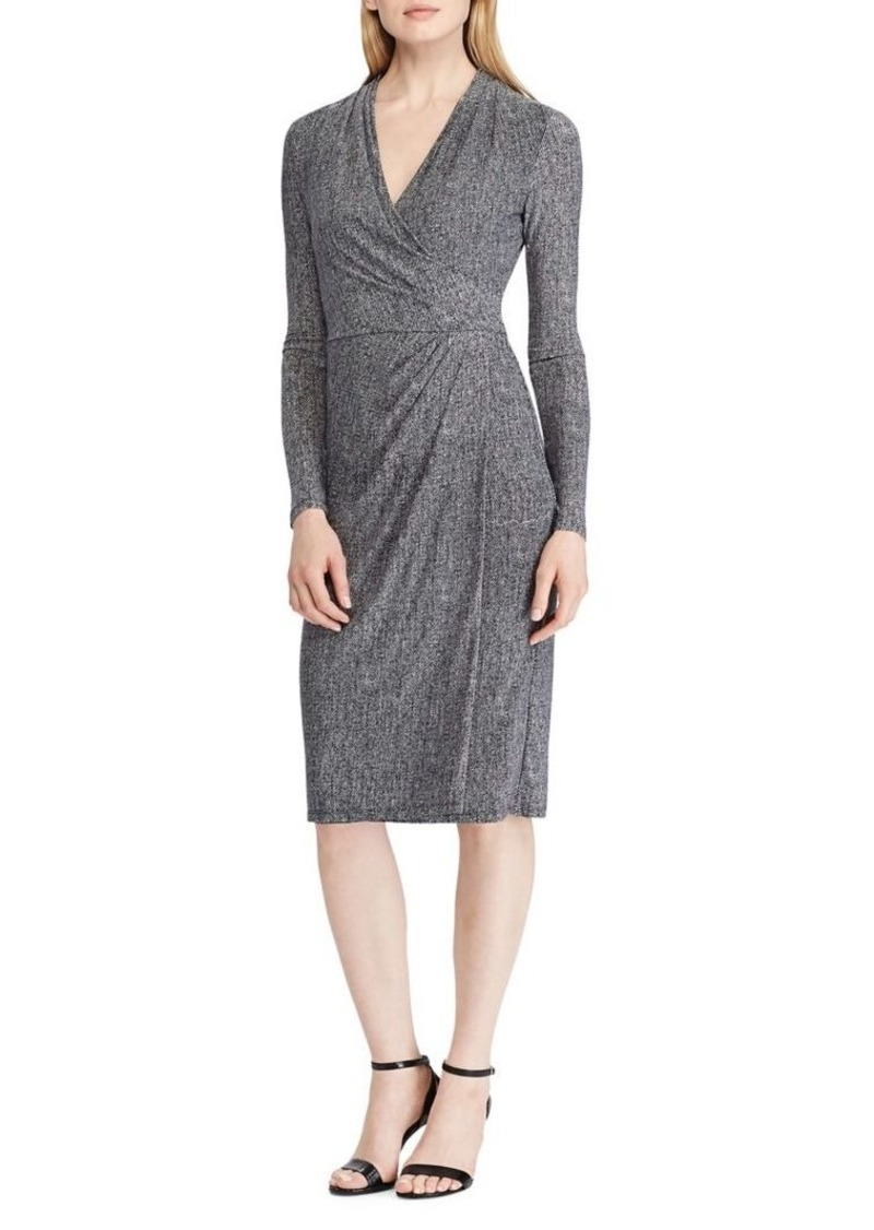 Lauren Ralph Lauren Jersey Long-Sleeve Dress