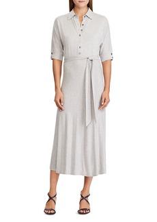 Lauren Ralph Lauren Jersey Shirt Dress