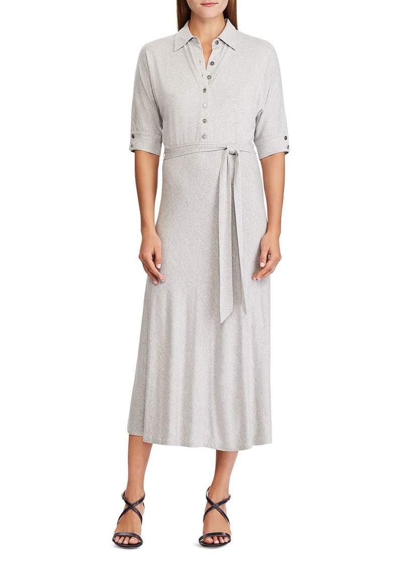Lauren Ralph Lauren Jersey Shirt Dress