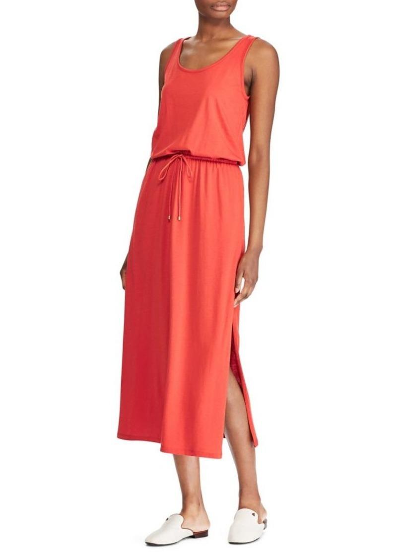 Lauren Ralph Lauren Jersey Sleeveless Maxi Dress