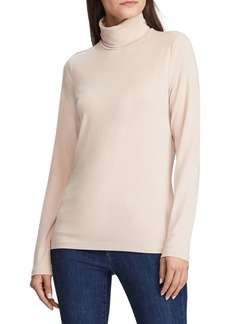 Lauren Ralph Lauren Jersey Turtleneck Top