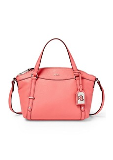 LAUREN RALPH LAUREN Kailee Mini Leather Satchel