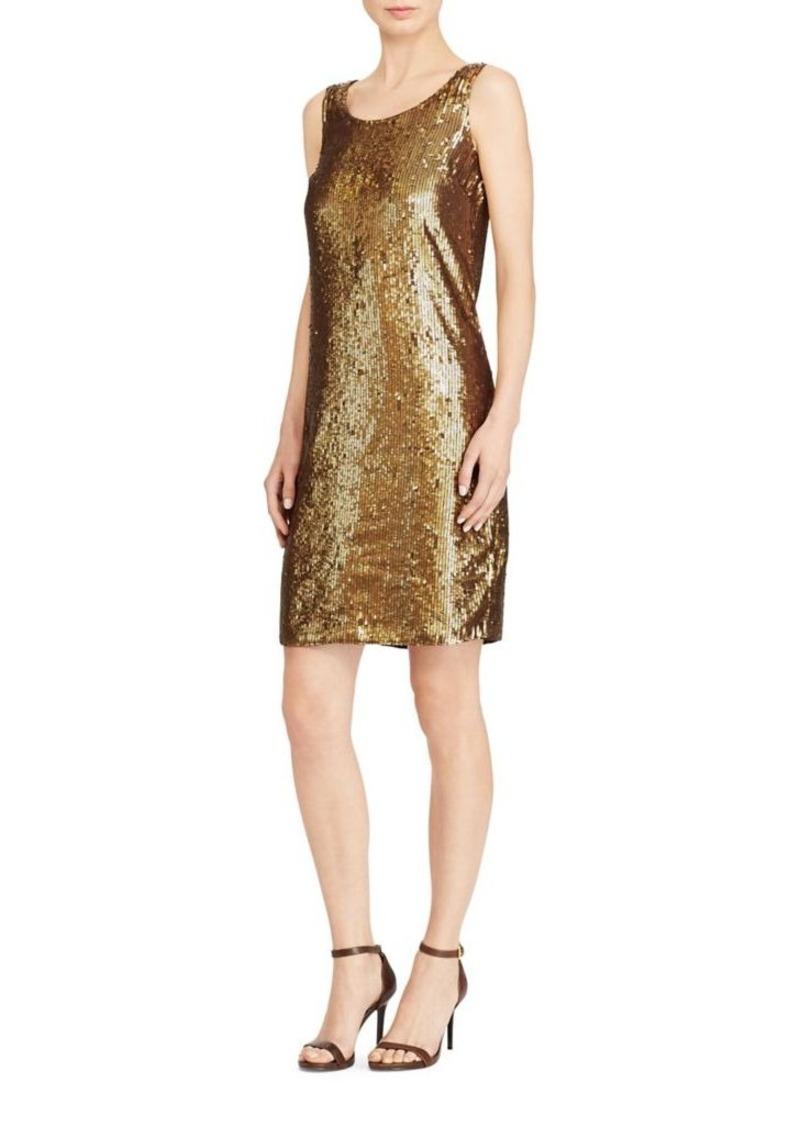 6381b812 Ralph Lauren Lauren Ralph Lauren Sequined Shift Dress Now $88.50