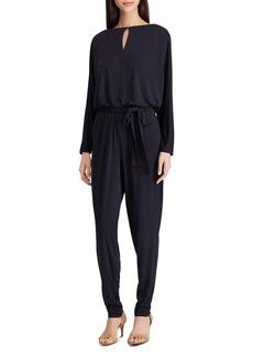 Lauren Ralph Lauren Keyhole Belted Jumpsuit