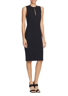 Lauren Ralph Lauren Keyhole Neck Shift Dress