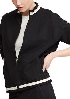 Lauren Ralph Lauren Knit Bomber Jacket