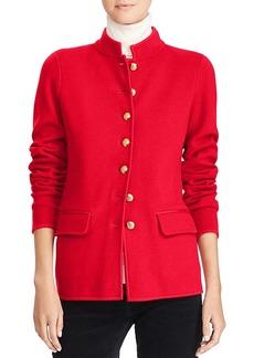 Lauren Ralph Lauren Knit Military Jacket