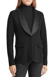 Lauren Ralph Lauren Knit Tuxedo Jacket