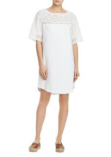 Lauren Ralph Lauren Lace-Detail Shift Dress
