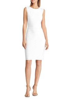 Lauren Ralph Lauren Lace-Inset Dress