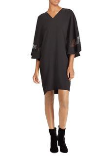 Lauren Ralph Lauren Lace Inset Shift Dress