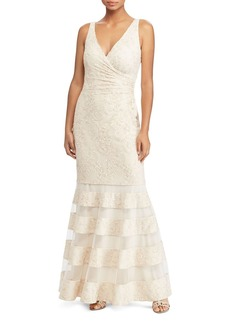 Lauren Ralph Lauren Lace Mermaid Gown - 100% Exclusive