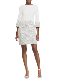 Lauren Ralph Lauren Lace Overlay Dress