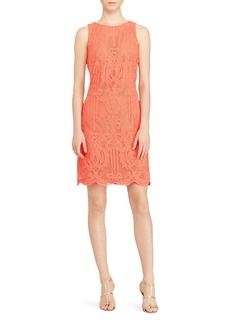 Lauren Ralph Lauren Lace Sheath Dress